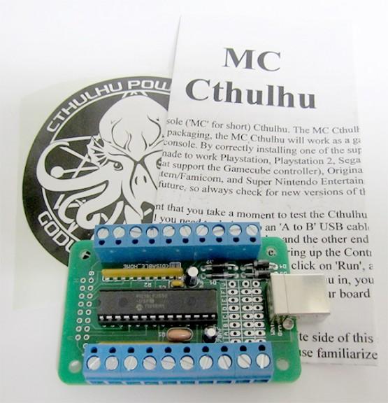Multi-Console Cthulhu, a Game Controller Emulator