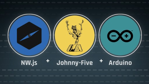 NW.js + Johnny-Five + Arduino